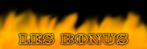 Les liens de téléchargement des bonus